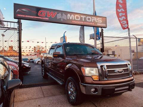 2011 Ford F-150 for sale at GW MOTORS in Newark NJ