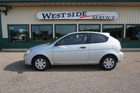 2007 Hyundai Accent for sale at West Side Service in Auburndale WI