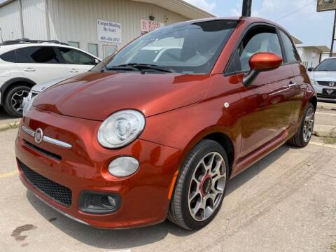 2013 FIAT 500 for sale at Lumpy's Auto Sales in Oklahoma City OK