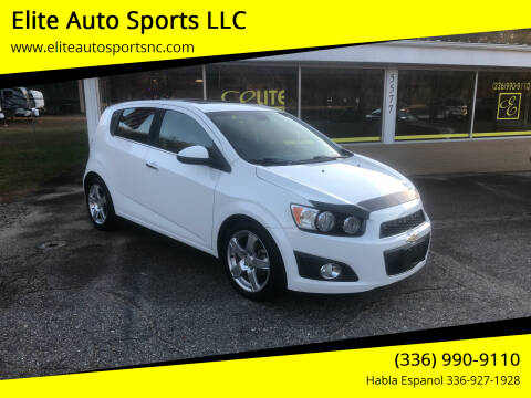 2012 Chevrolet Sonic for sale at Elite Auto Sports LLC in Wilkesboro NC