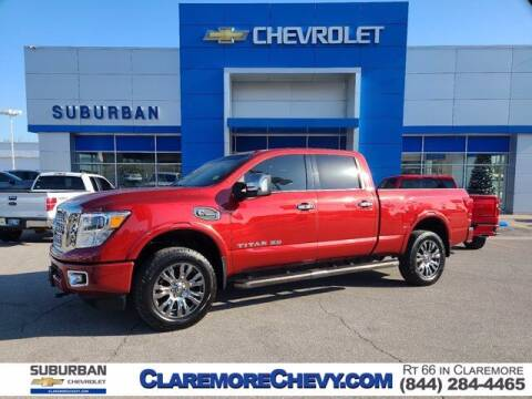 2016 Nissan Titan XD for sale at Suburban Chevrolet in Claremore OK