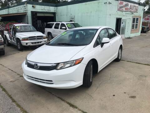 2012 Honda Civic for sale at Jerry & Menos Auto Sales in Belton MO