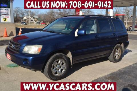 2005 Toyota Highlander for sale at Your Choice Autos - Crestwood in Crestwood IL