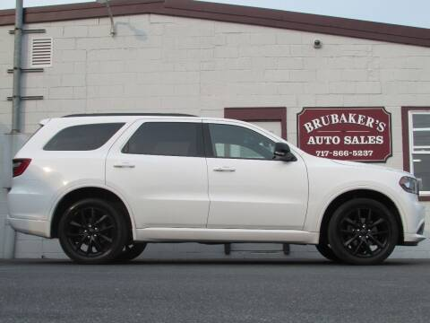 2018 Dodge Durango for sale at Brubakers Auto Sales in Myerstown PA
