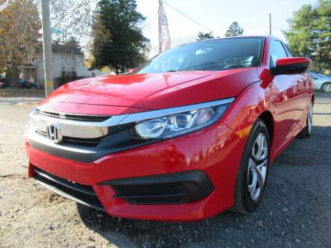 2016 Honda Civic for sale at PRESTIGE IMPORT AUTO SALES in Morrisville PA