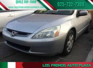 2005 Honda Accord for sale at Los Primos Auto Plaza in Antioch CA