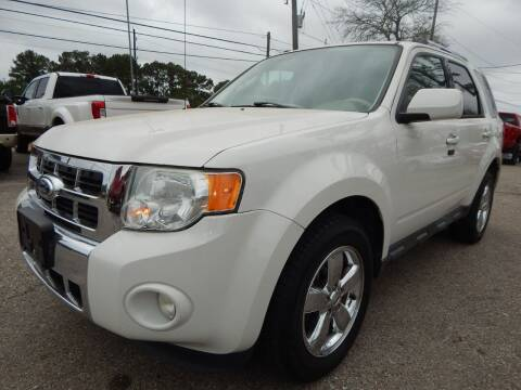 2012 Ford Escape for sale at Medford Motors Inc. in Magnolia TX