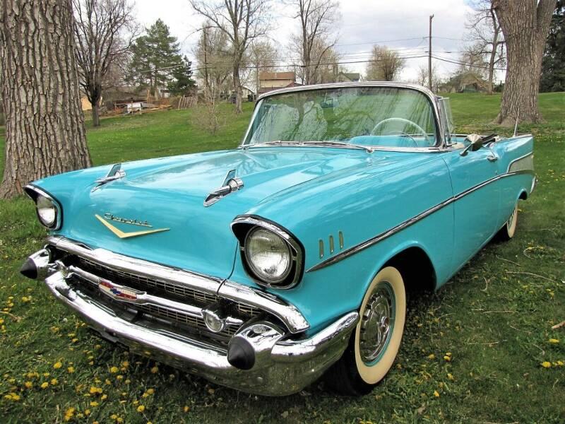 1957 Chevrolet Bel Air for sale at Street Dreamz in Denver CO