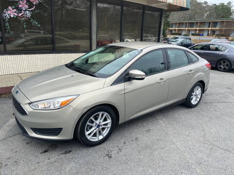 2015 Ford Focus for sale at J Franklin Auto Sales in Macon GA