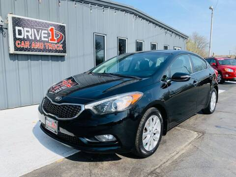 2014 Kia Forte for sale at Drive 1 Car & Truck in Springfield OH