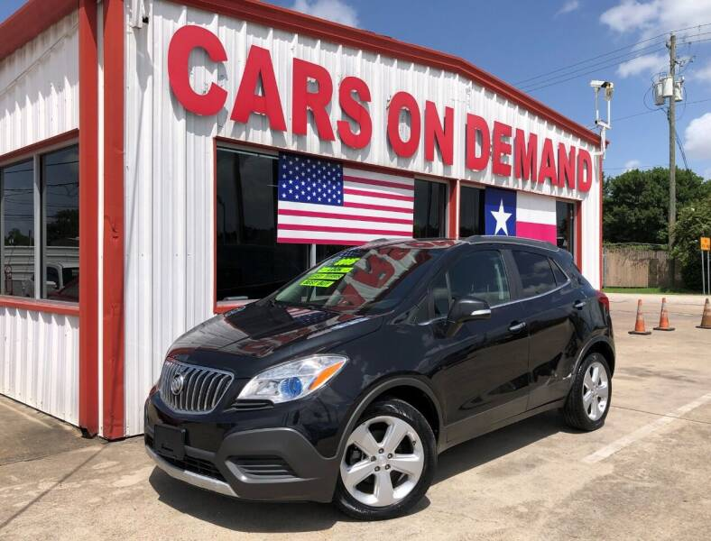 2015 Buick Encore for sale at Cars On Demand 3 in Pasadena TX