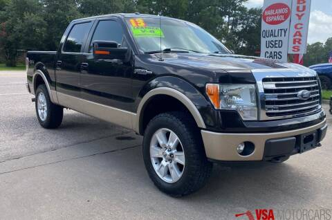 2013 Ford F-150 for sale at VSA MotorCars in Cypress TX
