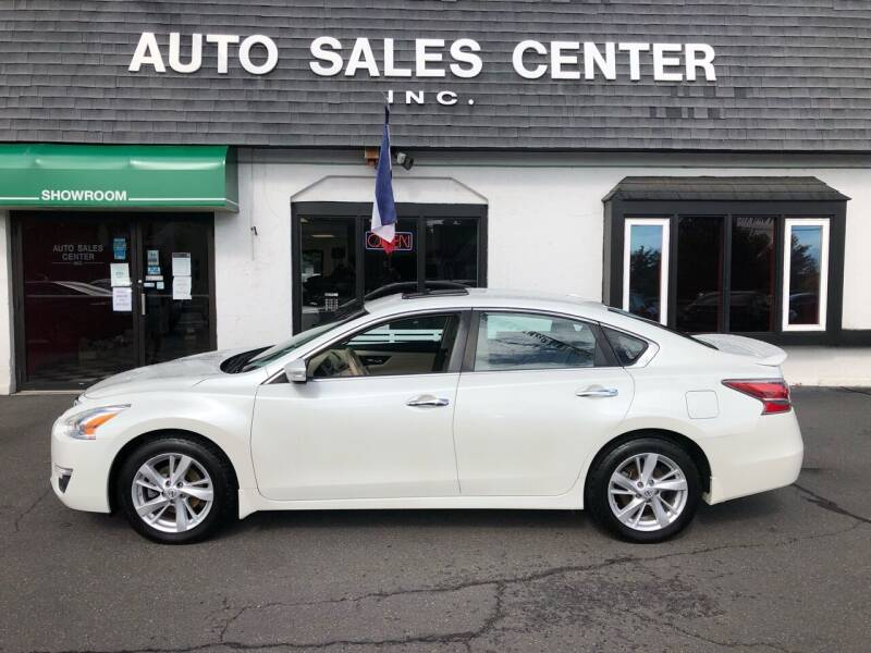 2015 Nissan Altima for sale at Auto Sales Center Inc in Holyoke MA
