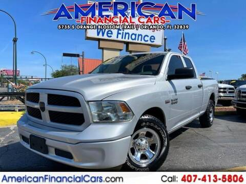 2014 RAM Ram Pickup 1500 for sale at American Financial Cars in Orlando FL