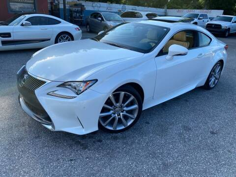 2015 Lexus RC 350 for sale at CHECK  AUTO INC. in Tampa FL