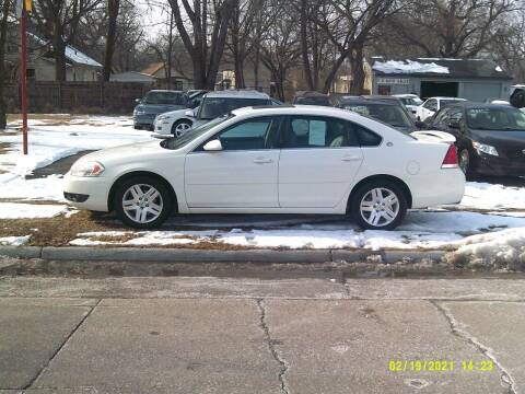 2008 Chevrolet Impala for sale at D & D Auto Sales in Topeka KS