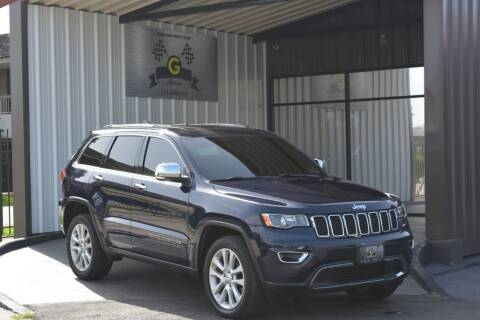 2017 Jeep Grand Cherokee for sale at G MOTORS in Houston TX