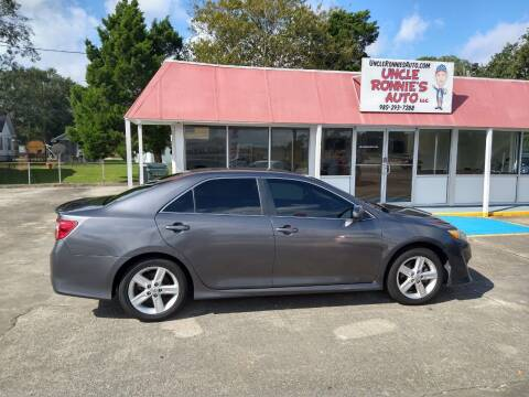 2013 Toyota Camry for sale at Uncle Ronnie's Auto LLC in Houma LA