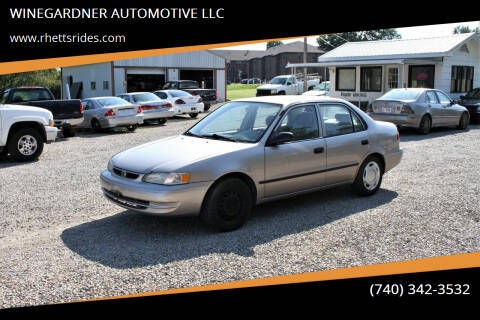 1999 Toyota Corolla for sale at WINEGARDNER AUTOMOTIVE LLC in New Lexington OH