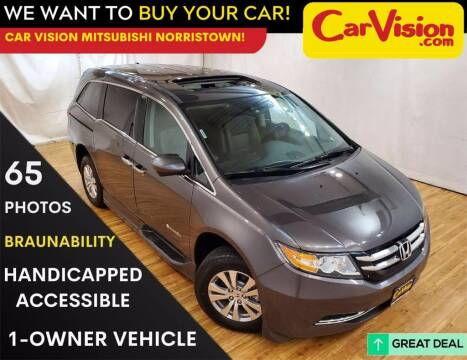 2016 Honda Odyssey for sale at Car Vision Mitsubishi Norristown in Trooper PA