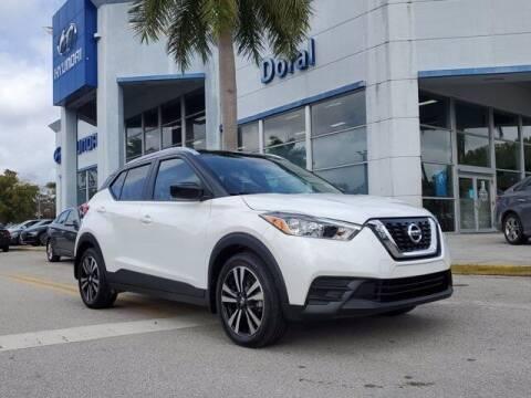 2018 Nissan Kicks for sale at DORAL HYUNDAI in Doral FL