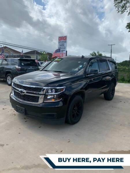 2017 Chevrolet Tahoe for sale at GRG Auto Plex in Houston TX