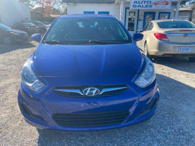 2014 Hyundai Accent for sale at Advantage Motors in Newport News VA