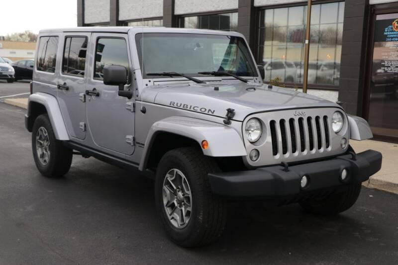 2015 Jeep Wrangler Unlimited for sale at Ultimate Auto Deals DBA Hernandez Auto Connection in Fort Wayne IN