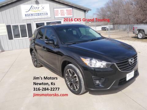 2016 Mazda CX-5 for sale at Jim's Motors in Newton KS