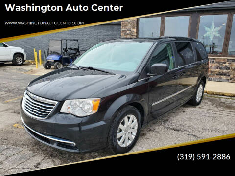 2014 Chrysler Town and Country for sale at Washington Auto Center in Washington IA