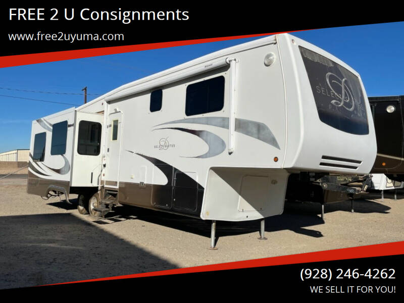 2009 DRV Select Suites  for sale at FREE 2 U Consignments in Yuma AZ