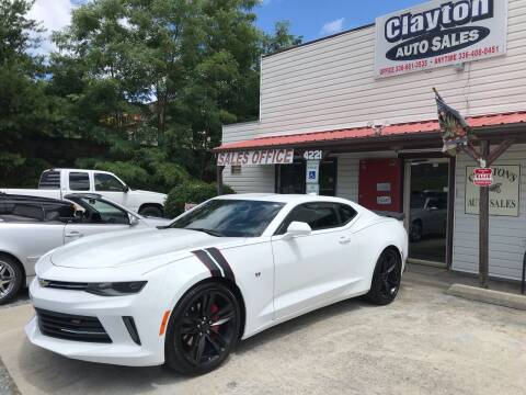 2017 Chevrolet Camaro for sale at Clayton Auto Sales in Winston-Salem NC