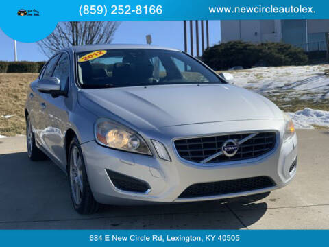 2012 Volvo S60 for sale at New Circle Auto Sales LLC in Lexington KY
