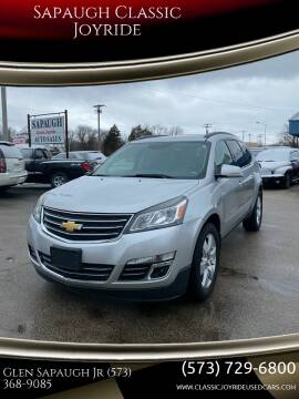 2013 Chevrolet Traverse for sale at Sapaugh Classic Joyride in Salem MO