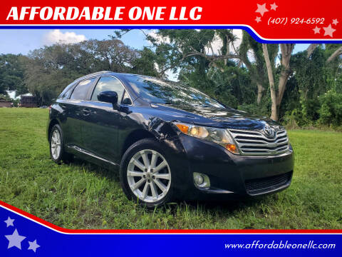 2012 Toyota Venza for sale at AFFORDABLE ONE LLC in Orlando FL