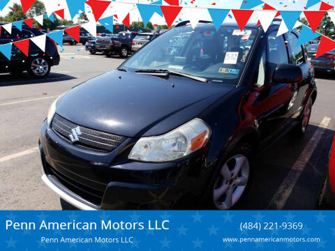 2009 Suzuki SX4 Crossover for sale at Penn American Motors LLC in Allentown PA