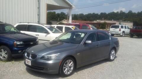 2010 BMW 5 Series for sale at MARIETTA MOTORS LLC in Marietta OH