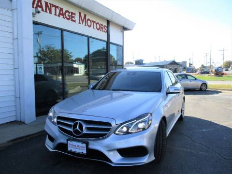 2014 Mercedes-Benz E-Class for sale at Vantage Motors LLC in Raytown MO