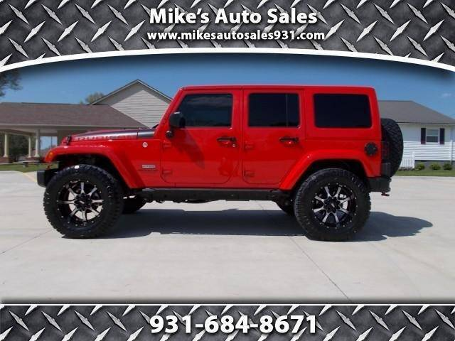 2017 Jeep Wrangler Unlimited for sale at Mike's Auto Sales in Shelbyville TN
