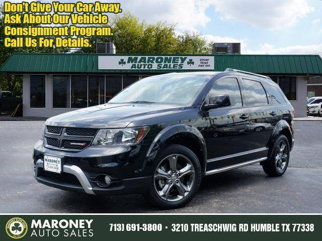 2017 Dodge Journey for sale at Maroney Auto Sales in Humble TX