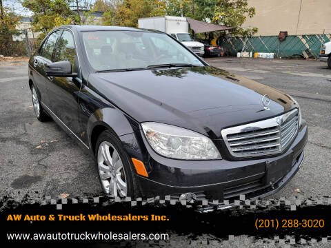 2010 Mercedes-Benz C-Class for sale at AW Auto & Truck Wholesalers  Inc. in Hasbrouck Heights NJ