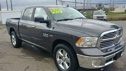 2017 RAM Ram Pickup 1500 for sale at AutoBoss PRE-OWNED SALES in Saint Clairsville OH