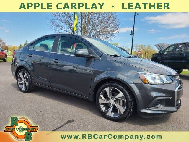 2018 Chevrolet Sonic for sale at R & B Car Company in South Bend IN