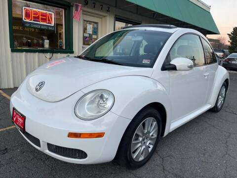 2009 Volkswagen New Beetle for sale at 1st Choice Auto Sales in Fairfax VA