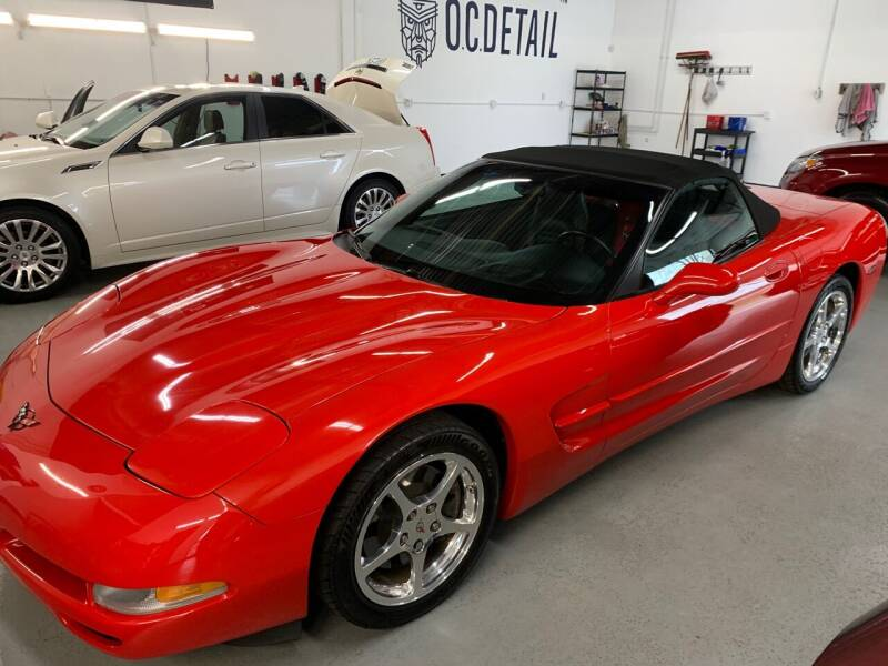 2004 Chevrolet Corvette for sale at The Car Buying Center in St Louis Park MN