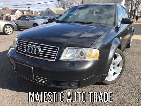 2001 Audi A6 for sale at Majestic Auto Trade in Easton PA