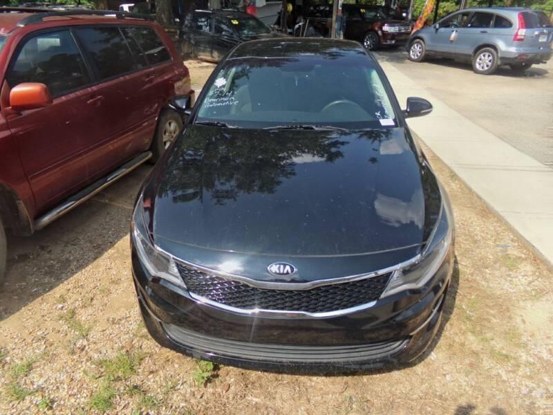 2016 Kia Optima for sale at Alabama Auto Sales in Semmes AL