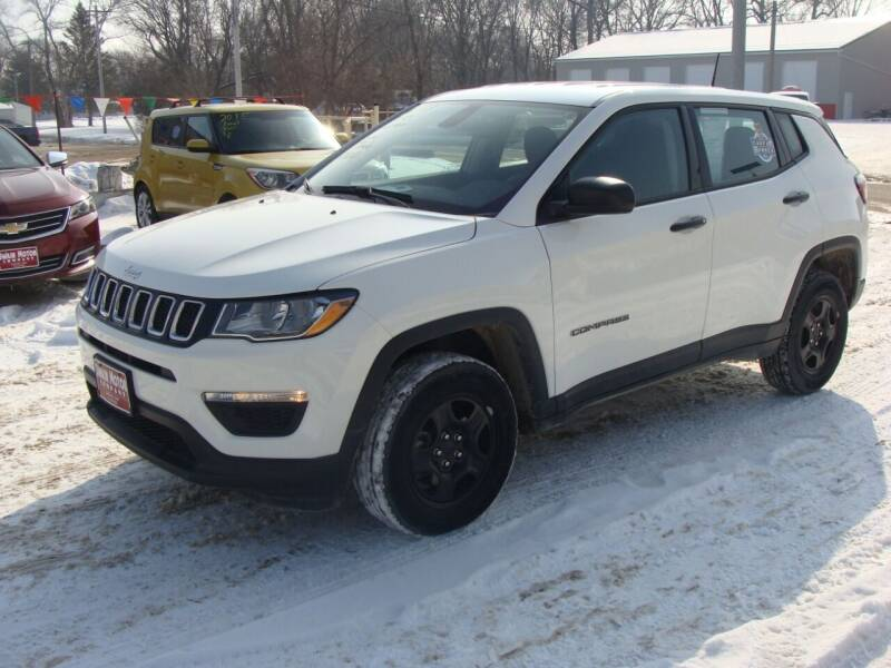 2019 Jeep Compass for sale at Swain Motor Company in Cherokee IA