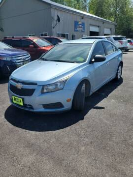 2012 Chevrolet Cruze for sale at Jeff's Sales & Service in Presque Isle ME