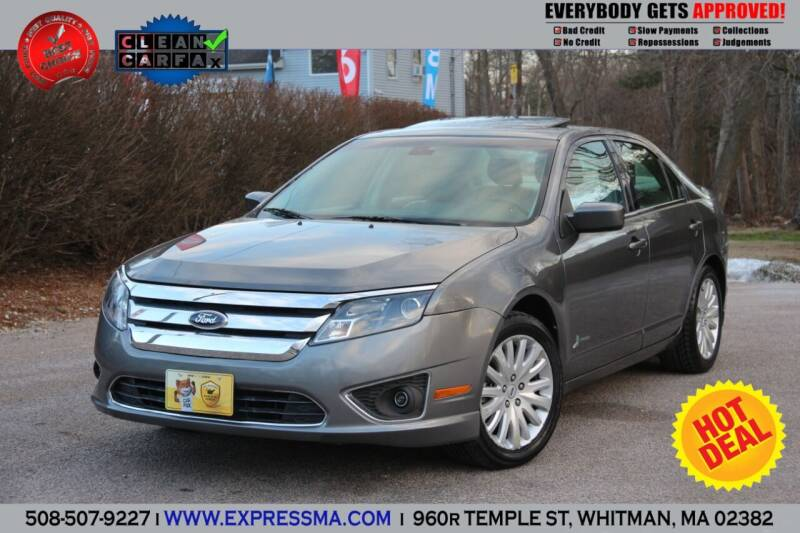 2011 Ford Fusion Hybrid for sale at Auto Sales Express in Whitman MA